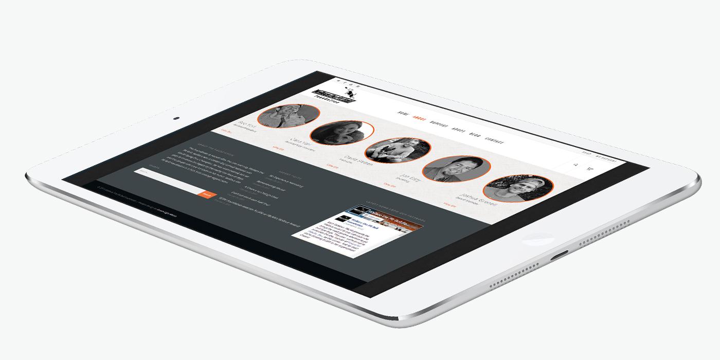 Уеб сайт дизайн за фондация за кучета