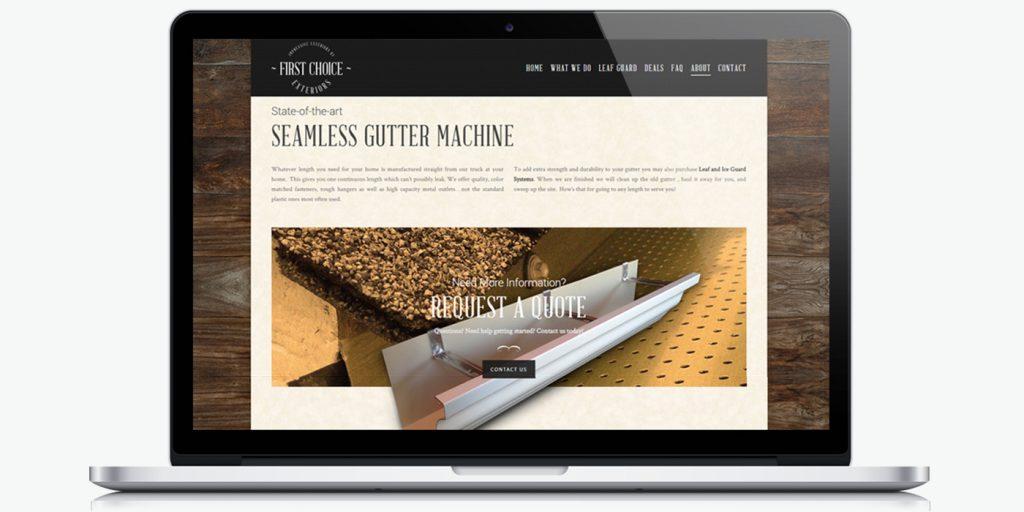 уеб сайт дизайн за улуци First Choice