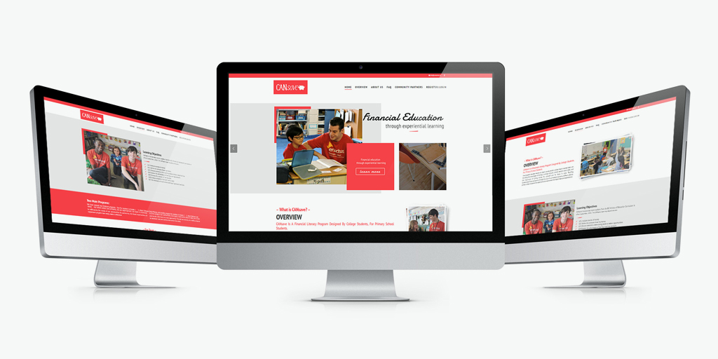 Уеб сайт дизайн за училище от GNL Media