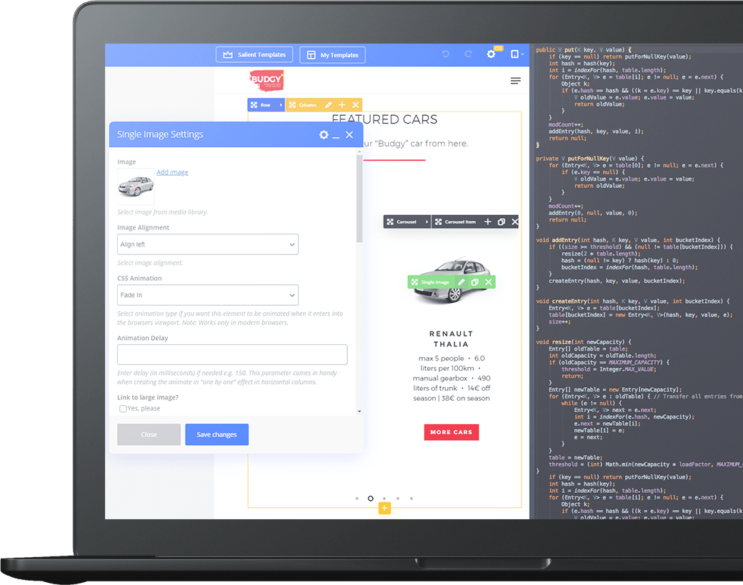 Изработка на уеб сайт дизайн